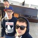 утро самые первые встречаем день города Ростова))))))) 5утра